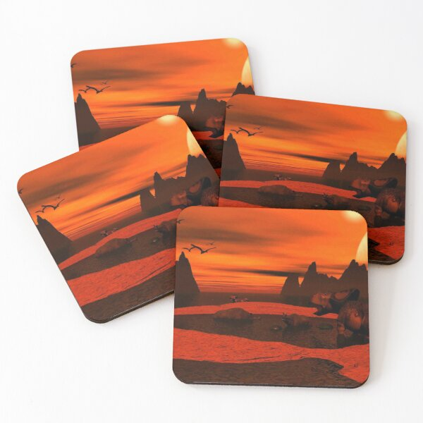 Tar Pits Coasters (Set of 4)