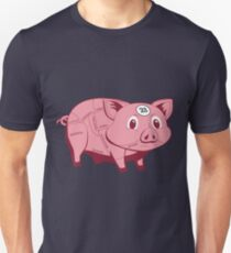 Pink Pig Unisex T-Shirt