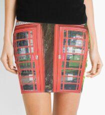 Red Telephone Box Mini Skirt