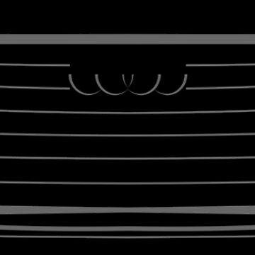 Audi A8 D5 2017 Front Black by Grafikus
