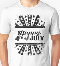 Happy 4th of July Independence Day Unisex T-Shirt