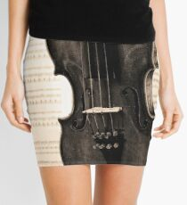 The old Violin Mini Skirt