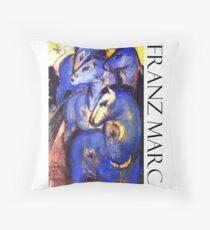Franz Marc - Blue Horses Floor Pillow