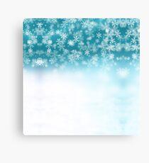 Falling Snowflakes ❄️❄️ Canvas Print