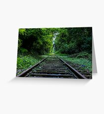 Railway to the Soul Greeting Card