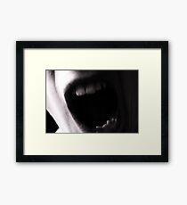 Argh! Framed Print