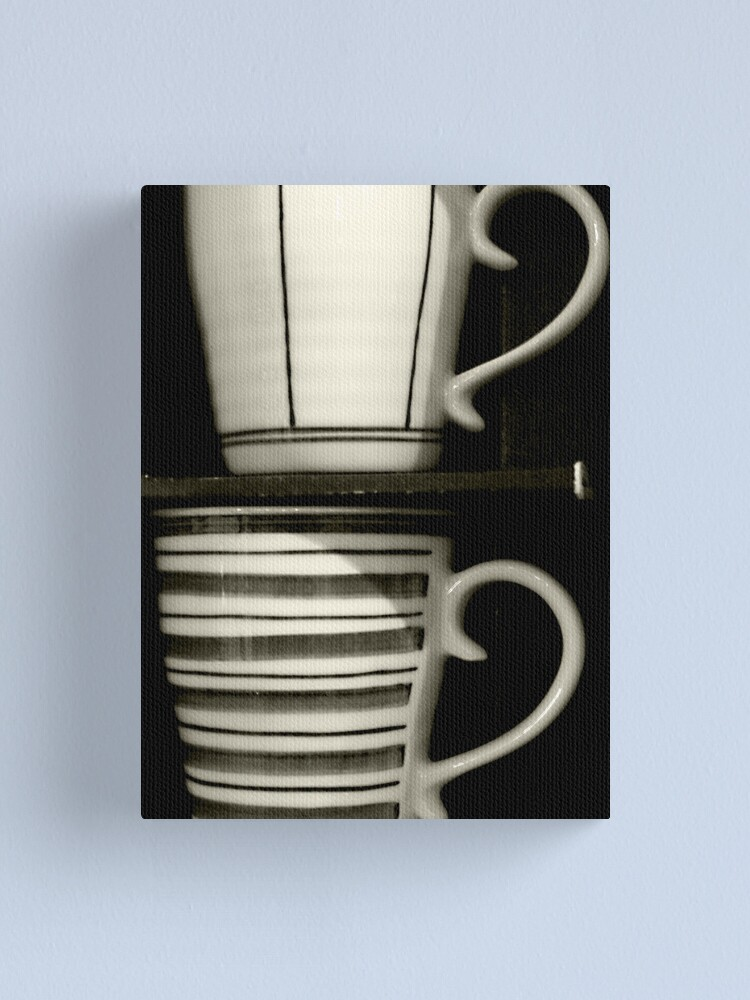 Alternate view of Coffee for two Canvas Print