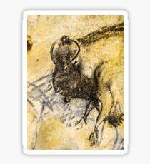 Chauvet Staring Bison Sticker