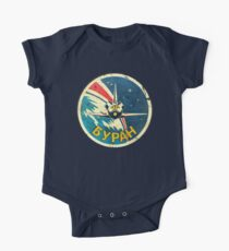 CCCP Space Shuttle Classic Emblem V01 One Piece - Short Sleeve