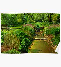 Garden Stream Poster