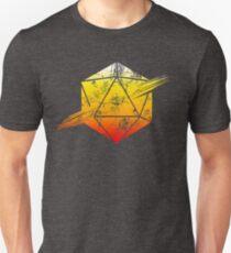 d20 Tequila Sunrise Unisex T-Shirt