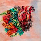 flowers and heart by ariadna de raadt