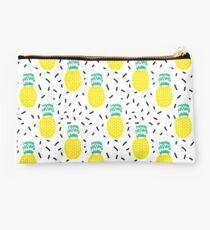 Pineapple fun modern minimal scandi design fresh fruit tropical island summer beach socal vegan Studio Pouch