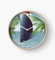 Barbados Cruise liner Clock