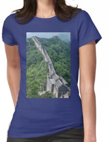 The Great Wall of China Womens Fitted T-Shirt