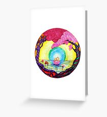 Tranquil Headlessness Greeting Card