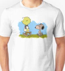 Charlie Brown & Snoopy - Shrek & Donkey Unisex T-Shirt
