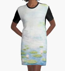 An Afternoon with Monsieur Monet Graphic T-Shirt Dress