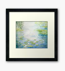 An Afternoon with Monsieur Monet Framed Print