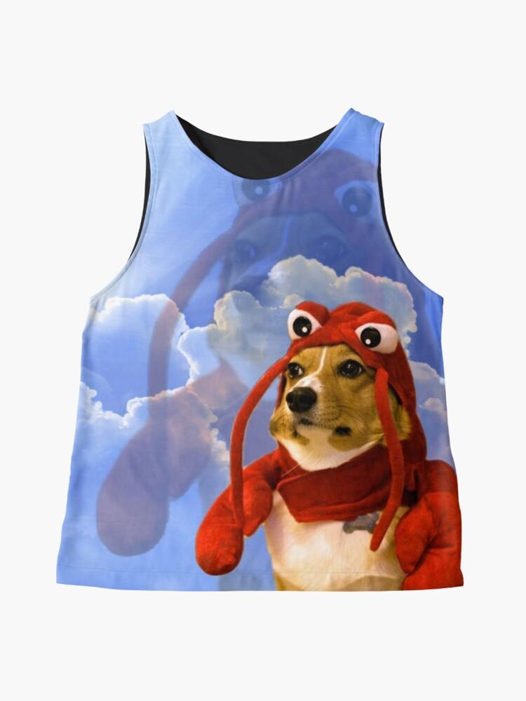 Alternate view of Lobster Corgi, Doggo #1 Sleeveless Top