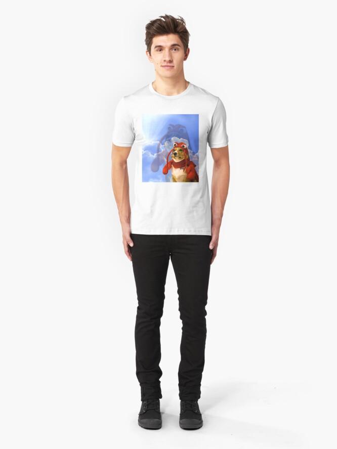 Alternate view of Lobster Corgi, Doggo #1 Slim Fit T-Shirt