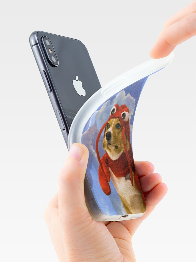 Alternate view of Lobster Corgi, Doggo #1 iPhone Case & Cover