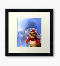 Lobster Corgi, Doggo #1 Framed Print