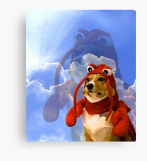 Lobster Corgi, Doggo #1 Canvas Print