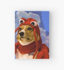 Cuaderno de tapa dura Langosta Corgi, Doggo # 1
