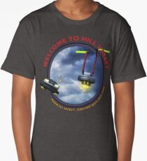 Welcome to Hill Valley - Please Fly Safely Long T-Shirt
