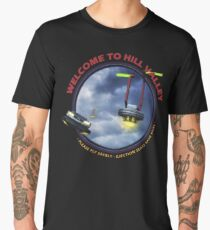 Welcome to Hill Valley - Please Fly Safely Men's Premium T-Shirt