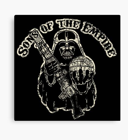 Sons of Empire Badge Canvas Print