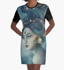 Zodiac Pisces Graphic T-Shirt Dress