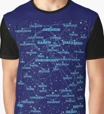 Sci-fi star map (old version) Graphic T-Shirt