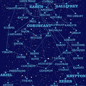 Sci-fi star map (old version) by silentrebel