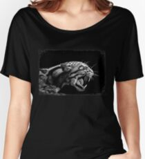ANGER Women's Relaxed Fit T-Shirt