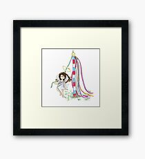 May Day Angel Framed Print