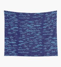 Sci-fi star map Wall Tapestry