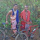 The Modern Maasai, Moshi, Tanzania, Africa by Adrian Paul