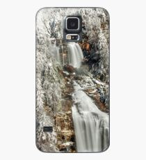 Whitewater Falls in White Case/Skin for Samsung Galaxy