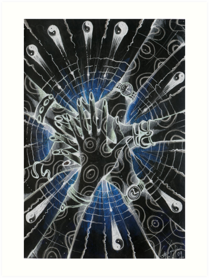 The Collective Unconscious ( Inverted Hexagram ) by John Dicandia ( JinnDoW )