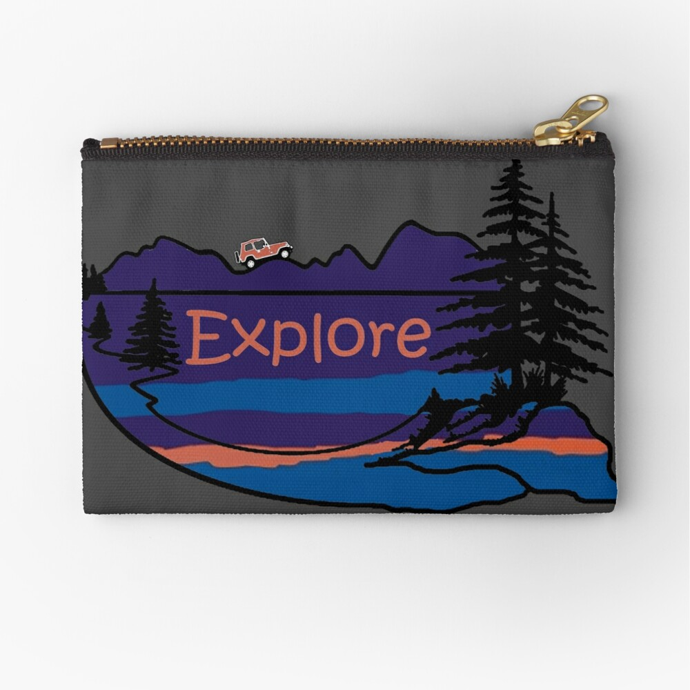 Jeep Explore Mountain Hiking Camping amantes de la naturaleza Bolsos de mano