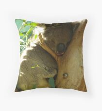 Hold Your Chin Up Throw Pillow