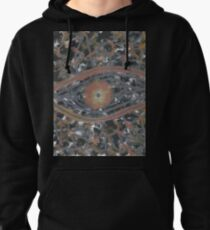 Mankind - Abstract Painting (orange black design) Pullover Hoodie