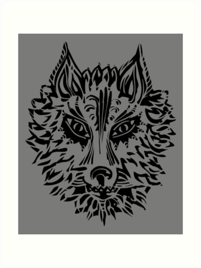 Wolf Symbol Of Loyalty And Strength Art Prints By Anne Mathiasz
