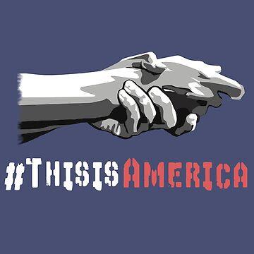 This Is America Anti Racism T-Shirt by masliankaStepan