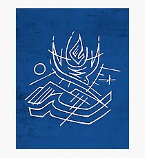 Holy Spirit and nature symbols Photographic Print
