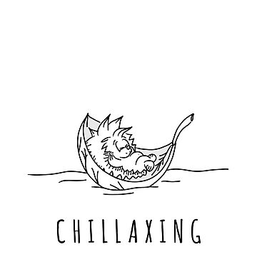 Chillaxing | Hedgehog Lifestyle | Take it Easy | Chill | Cute Animal | Gift for Women & Kids | Birthday present by regedy1