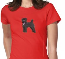 Poodle #1 Womens Fitted T-Shirt