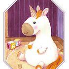 « Bébé licorne » par Castel Yvonne